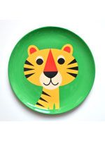 £7.75 Tiger Plate by Ingela P Arrenhius from www.hunkydoryhome.com