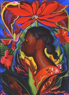 joseph stella paintings   Joseph Stella - In the Jungle