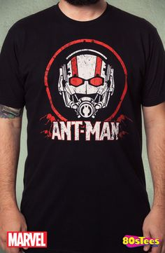 Ant-Man T-Shirt: Marvel Comics An-Man Mens T-Shirt