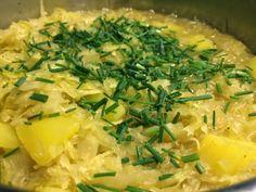 Rezept für Sauerkraut-Kartoffel-Eintopf