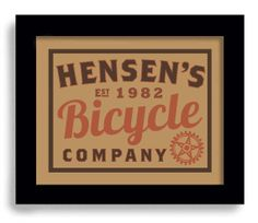 Bicycle Art Print Personalized Cycling Art Vintage Bicycle Art Poster on Etsy, $22.00