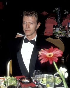 ~ David Bowie looking all the gentleman~