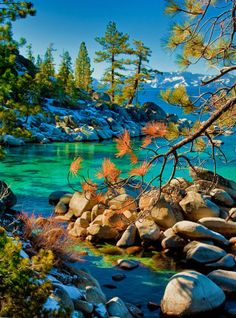 Lake Tahoe Sierra, Nevada United States