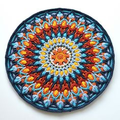 $US5.50 Spanish Mandala is made in Overlay Crochet technique. This easy to follow pattern (18 pages) is written for one size. It contains step by step full written instructions in English using standard crochet abbreviations and US terms (stitch guide is given in the pattern). It also contains lots of pictures explaining all the tricky and difficult places.
