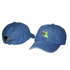Frog Tea Snapback Kermit None Of My business Dad Hat Lerbon James casquette  Dad Hats 87ec69ba691c