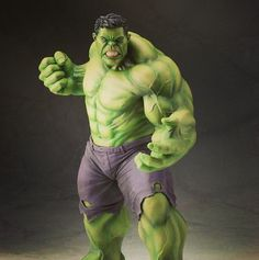 Get a look at the new Kotobukiya #Hulk statue available March 2014! #marvelgram