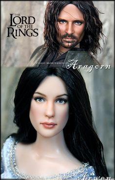 ::||www.ncruz.com::|| Lord of the Rings by Noel Cruz Dolls