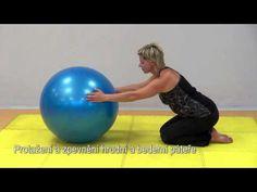 Cviky proti bolesti páteře a velkých kloubů - YouTube
