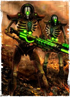 Forces of the Necron (The Deathmarks) by kokoda39 on DeviantArt