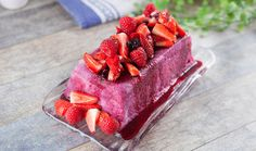 Berry Pudding recipe by justine schofield Vietnamese Chicken Salad, Raspberry, Strawberry, Blackberry Cobbler, Vanilla Bean Ice Cream, Summer Berries, Cooking For One, Slice Of Bread, Pudding Recipes