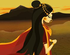 "Check out new work on my @Behance portfolio: ""Mahabharat- Amba Thirsts For…"