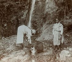 Mountain Spring, Jamaica | Item: 1-397 Title: Mountain Sprin… | Flickr Commonwealth, Haiti, Women In History, Black History, Trinidad, Cuba, Old Jamaica, Jamaica History, Jamaican Art