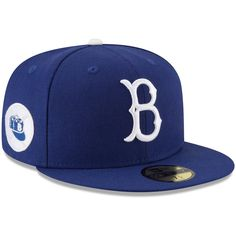 Men s Brooklyn Dodgers New Era Royal Cooperstown Collection 1955 World  Series Side Patch 59FIFTY Fitted Hat c2f710c77b3