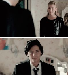 This scene was so cute. I want Betty and Jughead to get together ❤️