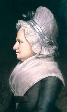 Martha Washington c 1796, by James Sharples