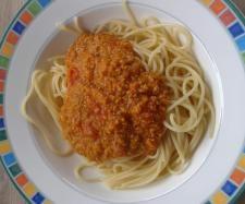 Rezept Kürbis-Bolognese von Sandra Schorer - Rezept der Kategorie sonstige Hauptgerichte