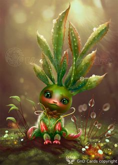 Baby-plant by Vasylina.deviantart.com on @DeviantArt
