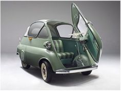 1956 BMW Isetta. Ease of access.