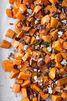Warm Roasted Sweet Potato SaladDelish