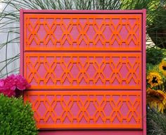 """Overlays: """"They come in 4 patterns and are super affordable! You can attach them to any surface and paint them what ever you can dream up."""""""