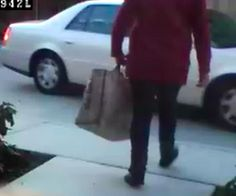 Recognize this Holiday Grinch? Package thief in #MountainView captured on surveillance video.
