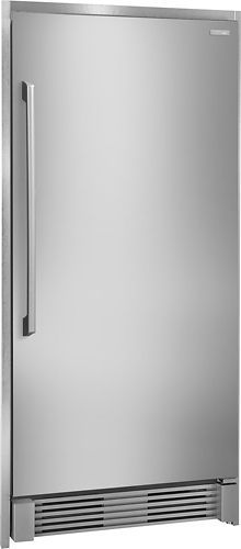 electrolux trim kit for select electrolux and freezers silver