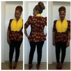 6 Ankara Top Styles Your You Should Sew this year