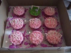 Cupcakes los goles son míos