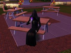 Grim taking a rare break #GrimReaper #Sims