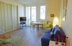 Furnished one-bedroom Paris apartment at rue Quentin-Bauchart