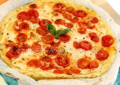 Pizza margherita di patate | Finta pizza ricetta il mio saper fare