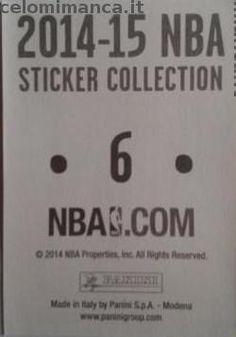2014-15 NBA Sticker Collection: Retro Figurina n. 6 Celtics Road Jersey