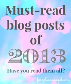 Must read blog posts of 2013
