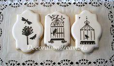 Birdcage Cookies   DecorationDreamz4U