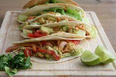 Chickslovefood recept: Tortilla's met garnalen en avocado. Aanrader!