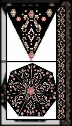off loom beading stitches Bead Loom Patterns, Peyote Patterns, Beading Patterns, Jewelry Patterns, Bracelet Patterns, Beading Techniques, Beading Tutorials, Mochila Crochet, Beaded Jewelry