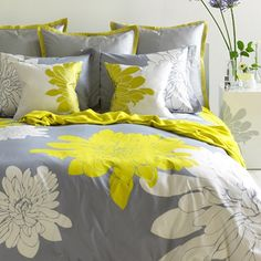 I pinned this Ashley Twin Duvet Set in Citron from the Blissliving Home event at Joss and Main!