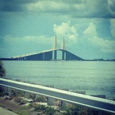 Skyway Bridge - St. Petersburg, FL on the way to Tampa