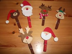 Pin by on noel New Year's Crafts, Fun Crafts For Kids, Craft Stick Crafts, Holiday Crafts, Kids Diy, Childrens Christmas Crafts, Preschool Christmas, Kids Christmas, Christmas Gift Tags