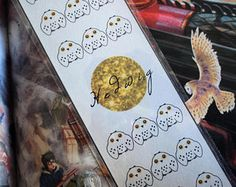 Harry Potter Hedwig Bookmark By DobbysStudio on Etsy!