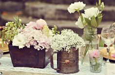 Floral Inspiration : The Centerpieces | Engaged & Inspired