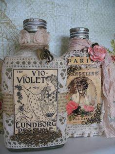 Dutch DIY : vintage bottles