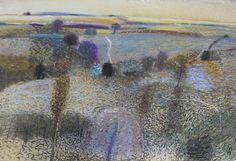 (94) Malcolm Ashman Landscapes Landscape Photos, Abstract Landscape, Landscape Paintings, Abstract Art, Landscapes, Oil Paintings, Garden Painting, Post Impressionism, Artist Painting