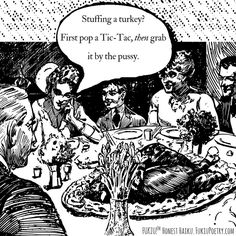 Trumpsgiving cartoon. #Haiku #Fukiu #Thanksgiving2016 #Thanksgiving #ecard