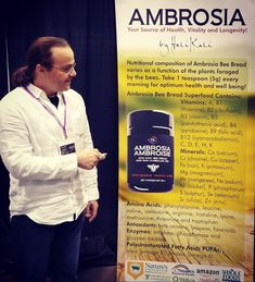 Sharing priceless information about Ambrosia Bee Bread is important to us! Stop by Booth 641 to experience the unique t. First Health, Superfood, Bee, Nutrition, Healthy Recipes, Celebrities, Unique, Honey Bees, Celebs