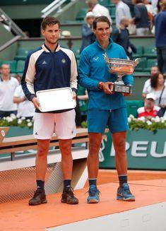 Rafa Nadal and Dominic Thiem June 2018 RG
