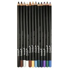12pc Nabi Eyeliner Pencil Set of 12 color E0120 * Check this awesome product by going to the link at the image. This Amazon pins is an affiliate link to Amazon.