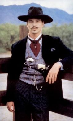 Val Kilmer aka Doc Holliday in Tombstone I true believe that he should have Won The Oscar Award for his performance of Doc Holiday . Cowboys And Indians, Real Cowboys, Tombstone Movie, Tombstone 1993, Tombstone Quotes, Tombstone Arizona, Doc Holliday Tombstone, O Cowboy, Cowboy Pictures