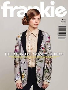 Frankie magazine cover with Solange - June 2011