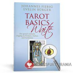 """Tarot Basics Waite - die Jubiläumsausgabe von Evelin Bürger und Johannes Fiebig, jetzt als Hardcover, inklusive Sonderdruck """"Die Hohepriesterin"""" im Postkartenformat!"""